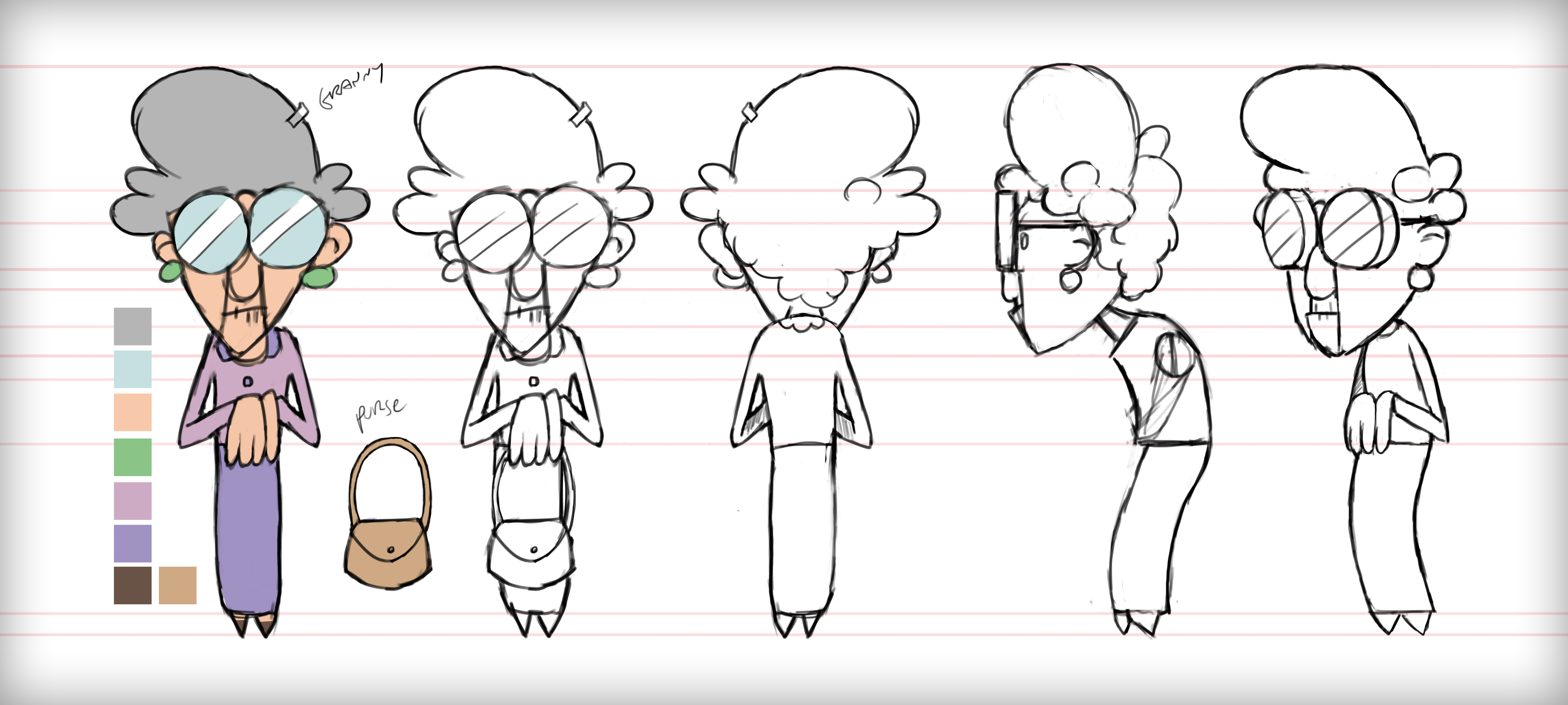 Character Design College Major : Major project week character turnarounds assets and
